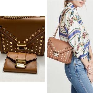 Michael Kors Whitney shoulder bag+change wallet